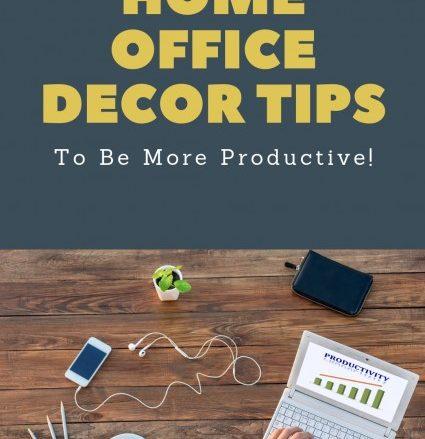 Home office decor tips