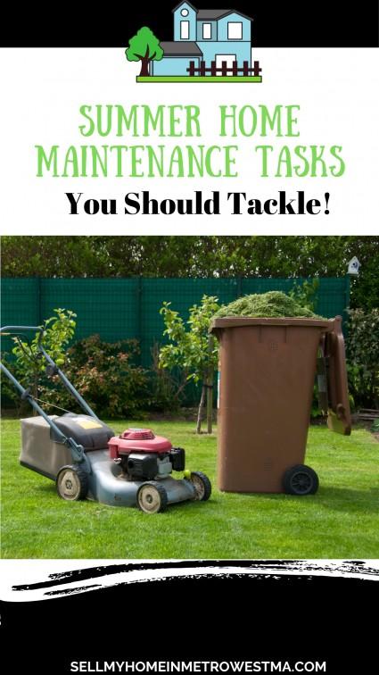 Summer Home Maintenance Tasks