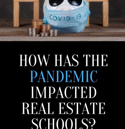 Impact of Pandemic on Real Estate Schools