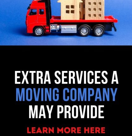 Extra Services Moving Companies Provide